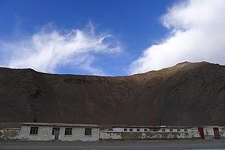 Dahongliutan Place in Xinjiang, China