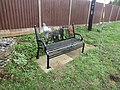 -2019-11-05 WW1 commemorative bench, Mundesley Road, Trimingham.JPG