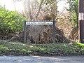 -2021-03-15 Street name sign, Heath Road, Crostwight, Norfolk.JPG