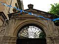 011 Casa al c. Santíssima Trinitat 2 (Canet de Mar), portal del pati.JPG