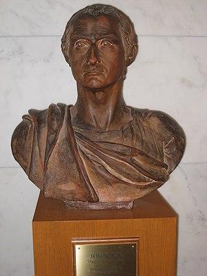 Giuseppe Ceracchi - Image: 01 John Jay bust, US Supreme Court