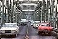 027L09241276 Reichsbrücke, Autoersatzbrücke über die Donau stadteinwärts.jpg