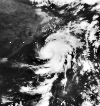 1970 North Indian Ocean cyclone season - Image: 03B May 4 1970 0536Z