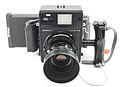 0610 Mamiya Universal 100 f3.5 metal hood 6x9 and Polaroid backs (9122199537).jpg