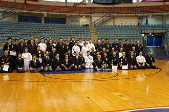 Iaido - Medals and cups are a part of iaido in connection with sport games.