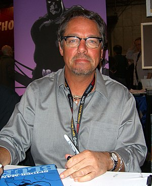 Tim Sale (artist) - Sale at the 2011 New York Comic Con