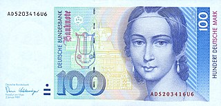 Deutsche Mark official currency of West Germany and later Germany from 1948 to 2002