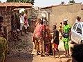 10 Janvier à Ouidah; Egoun goun en déambulation 03.jpg