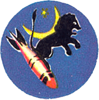 10th Missile Squadron - Emblem of the 10th Bombardment Squadron