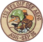 112th Expeditionary Fighter Squadron - OIF OEF 2005.png