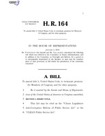 116th United States Congress H. R. 0000164 (1st session) - CLEAN Public Service Act.pdf