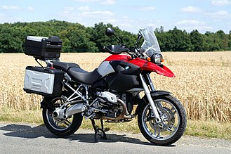 Touring motorcycle - BMW R1200GS adventure touring motorcycle