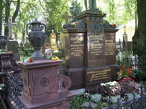 Mathilde Wesendonck - Grave of Mathilde Wesendonck and family in Bonn, Germany