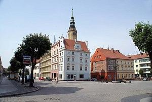 Brzeg - Market Square in Brzeg