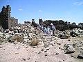 138 Umm al-Jimal tourists return to the coach.jpg