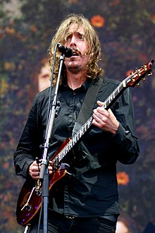 Mikael Åkerfeldt with Opeth at Rock im Park 2014