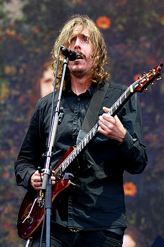 Mikael Åkerfeldt - Mikael Åkerfeldt with Opeth at Rock im Park 2014