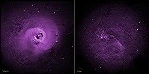 Perseus Cluster - Image: 14 296 Galaxy Clusters Perseus Virgo Chandra X Ray 20141027