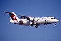 14bb - Crossair Avro RJ 100; HB-IXW@ZRH;15.02.1998 (5887760689).jpg