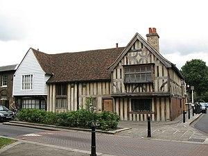 Walthamstow Village - Image: 15th C houses, Church Lane, E17 geograph.org.uk 899229