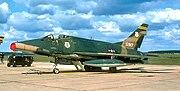 163d Tactical Fighter Squadron - North American F-100D-45-NH Super Sabre 55-2917