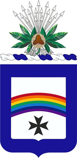 166th Infantry Regiment (United States) - 166th Infantry Regiment Coat of Arms