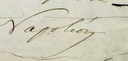 1855 signature of Napoléon III of France.jpg