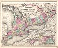 1857 Colton Map of Ontario, Canada - Geographicus - CanadaWest-colton-1857.jpg