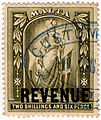 1902 2s6d Olive-Green revenue stamp of Malta.jpg