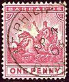 1903 1d Barbados St-Philip Yv51 SG107.jpg