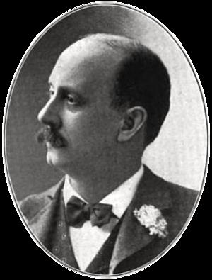 Elmer Chickering - Portrait of Elmer Chickering, ca.1903