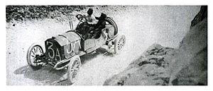 Junior F.J.T.A. - 1908 Targa Florio - Giuseppe Tamagni in a Junior 16/20 FJTA