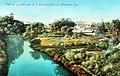 1910 - View of Jordan and L V Railroad Station - Postcard - Allentown PA.jpg