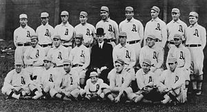 1911 Philadelphia Athletics season - Image: 1911 Philadelphia Athletics team photo