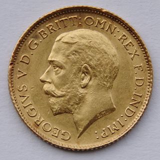 English and British gold coin