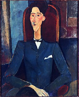1916, Modigliani, Jean Cocteau