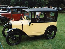 1926 Austin 7 Box saloon