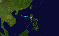 1948 Pacific tropical storm 23 track.png
