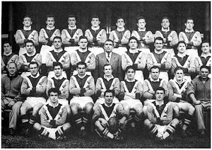 France national rugby league team - Image: 1951 French national rugby league team