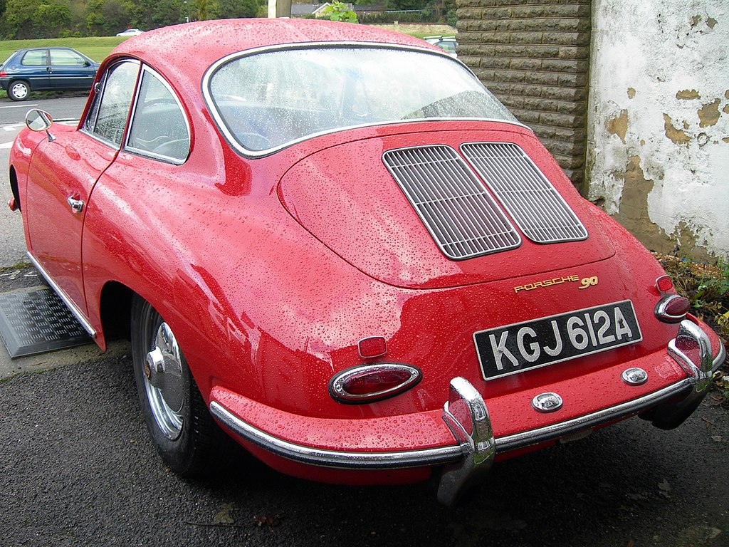 File 1963 Porsche 356b 90 T6 Rear Jpg Wikipedia