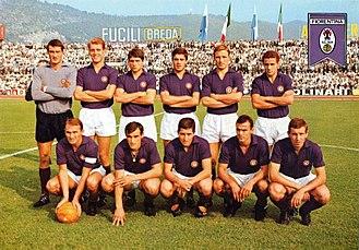 History of ACF Fiorentina - 1966–67 Fiorentina team