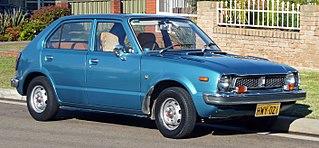 Original Honda Civic; produced from 1972 to 1979