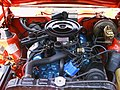 1973 Hornet hatchback V8 red eng.jpg