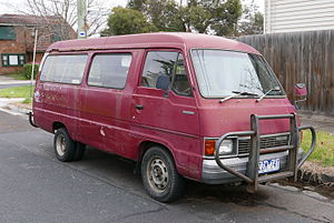 Mazda Bongo - Second generation Mazda E2200 (facelift)