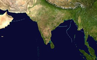 1983 North Indian Ocean cyclone season - Image: 1983 North Indian Ocean cyclone season summary