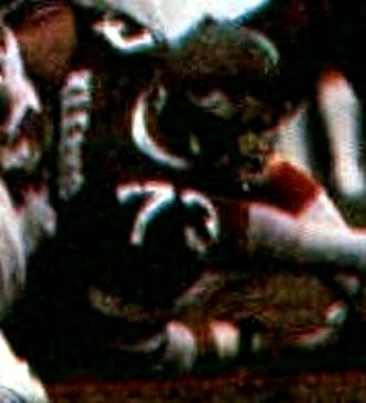 Joe Klecko - Klecko playing for the Jets in 1981