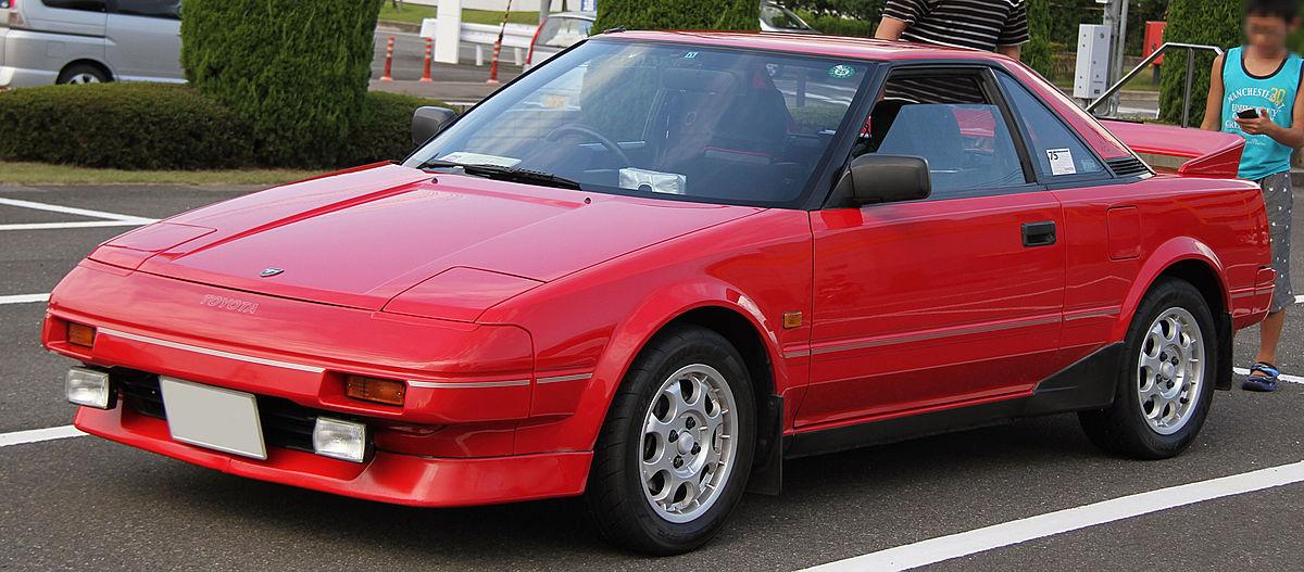 Toyota Mr2 Вікіпедія