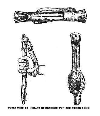 North American fur trade - Fur cleaning tools