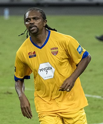 Nwankwo Kanu - Kanu in a friendly in 2017