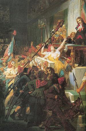 Revolt of 1 Prairial Year III - Prairial uprising Félix Auvray, 1831